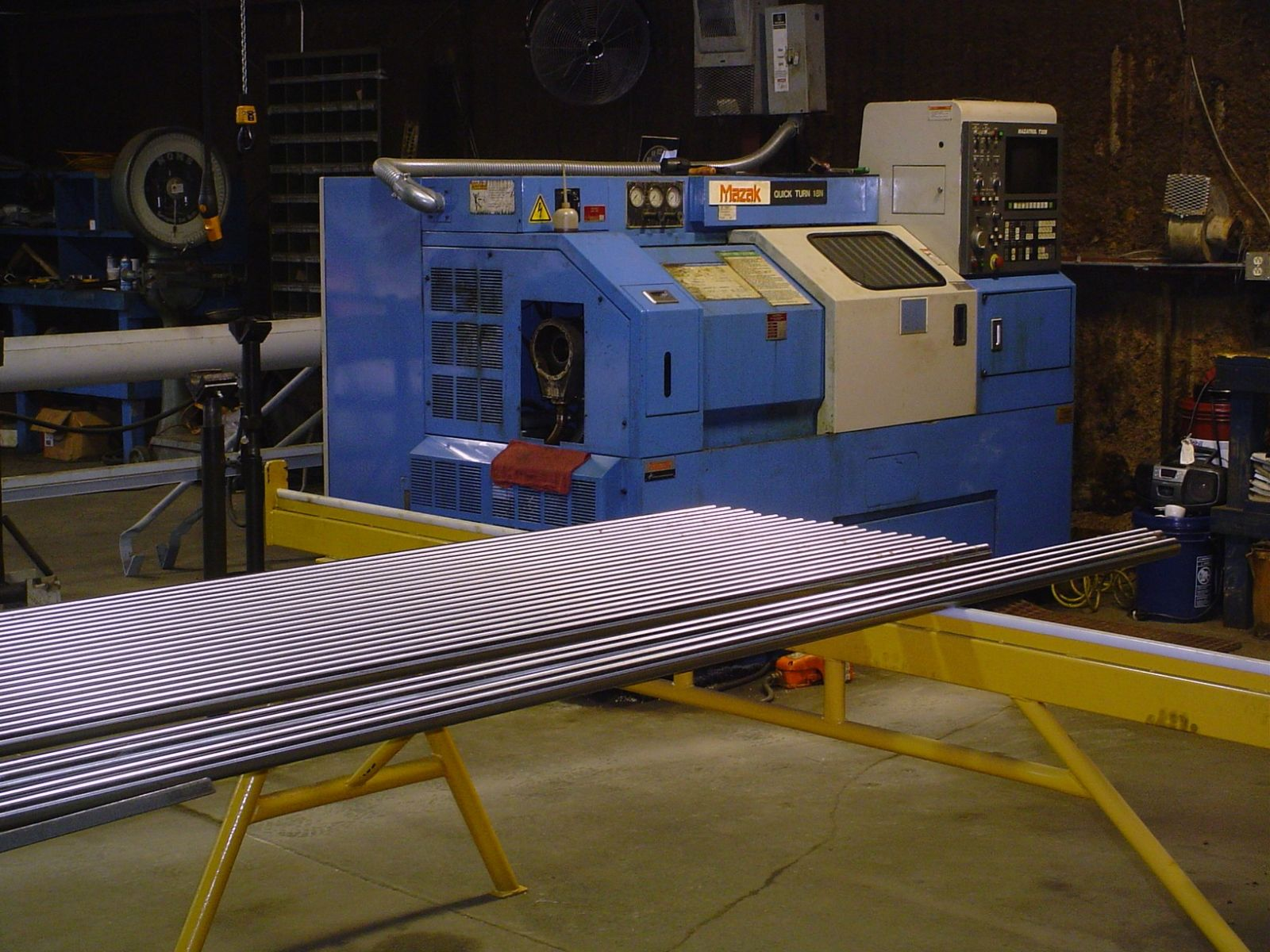 shafting inventory CNC lathe